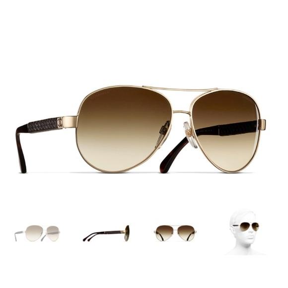 b4c783144d CHANEL Accessories - Authentic Chanel Pilot Summer Sunglasses